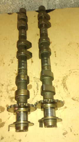 Porsche Boxster 2.7 all 4 Inlet and exhaust camshafts both sides  M96.22 camshaft ref P0022, P0020