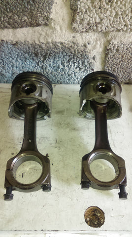 PISTON AND CONNECTING ROD Vauxhall Isuzu Monterey 3.1 TD Isuzu ENGINE ENGINE Opel 4JG2 REF 2468