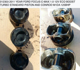 012303 2011 YEAR FORD FOCUS C-MAX 1.0 12V ECO BOOST TURBO STANDARD PISTON M1DA 125BHP