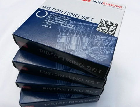 BMW 3.0TD 330D 330XD 530D 730D X5 3.0D M57 D30 M57 306D1 ENGINE PISTON RINGS SET THE PRICE IS FOR 6 CYLINDERS
