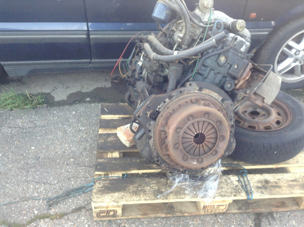 Nissan Engine Fd33t Fd33 Turbo Diesel 3 3 L For Spares Or