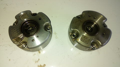 012872 YEAR 2007 AUDI 4.2 V8 fsi RS4 ENGINE CODE BNS EXHAUST, INLET CAM SHAFT ADJUSTER SPROCKET PULLEY OEM