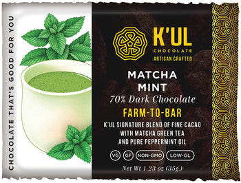 MATCHA MINT ARTISAN BAR  (Box of 12)