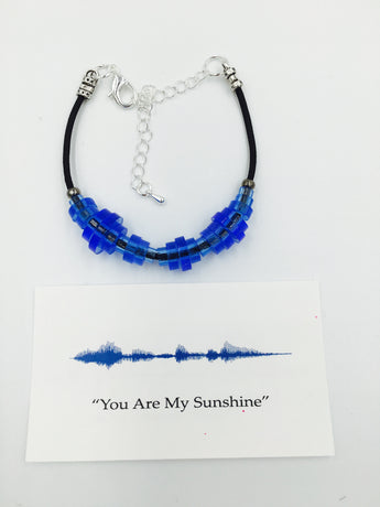 'Sound-Wave Bracelet' Choose From 16 Different Colors!