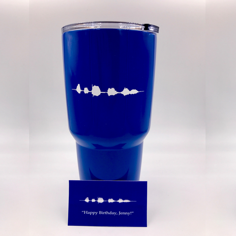 'Sound-Wave' Tumblers