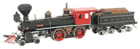 Metal Earth Wild West 4-4-0 Locomotive