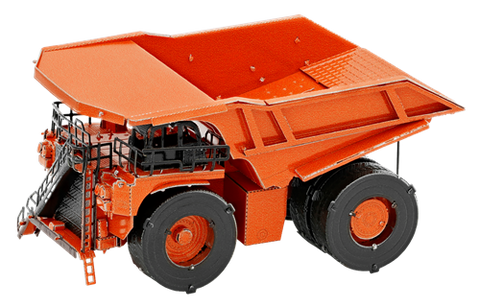 Metal Earth Mining Truck