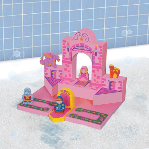 Bath Blocks: Floating Castle Set