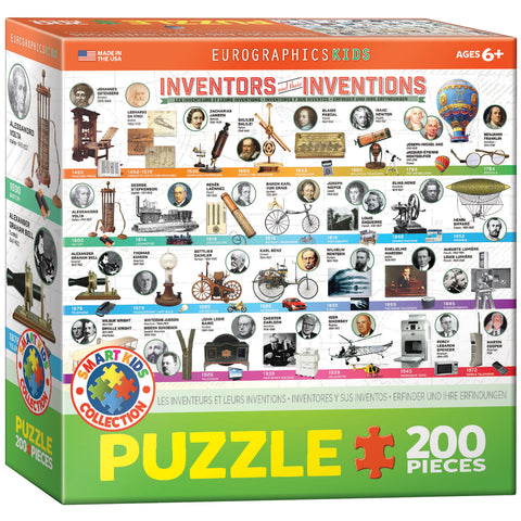 Inventors and Their Inventions 200 puzzle