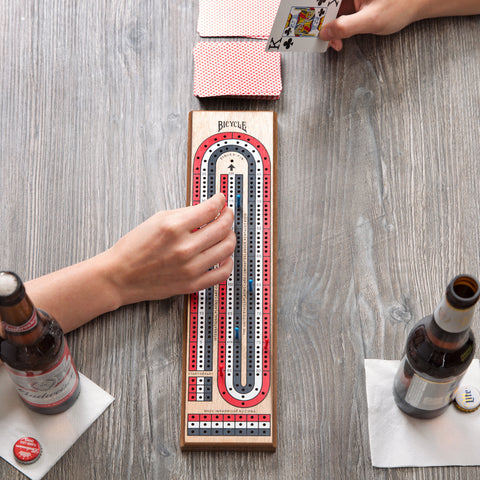 Bicycle Cribbage Board