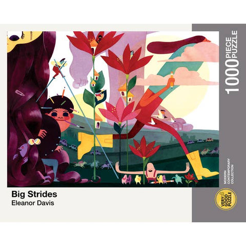 Big Strides 1000 piece puzzle
