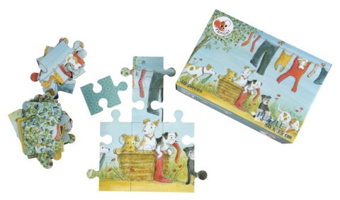 10 Dogs Puzzle-40 pieces