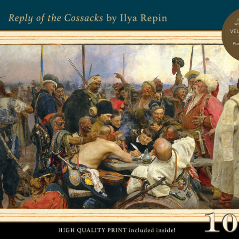 Reply of the Cossacks 1000 piece puzzle