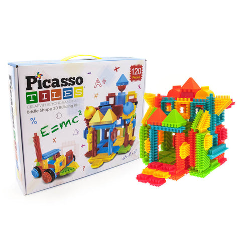 Bristle Shape 3D Building 120 Piece Set