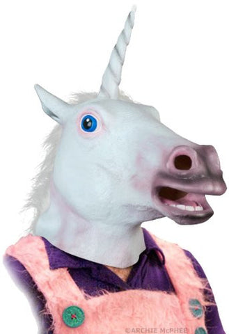 Creepy Unicorn Head