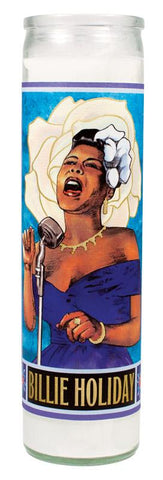 Billy Holiday Saint Candle