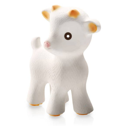 Sola the Goat Teething Toy-100% Pure Natural Rubber