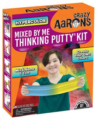 Crazy Aaron's Thinking Putty: Mixed By Me Kit-Hyper Color