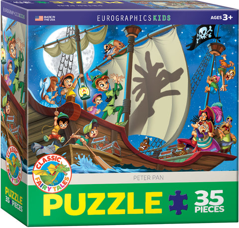 Peter Pan 100 piece puzzle