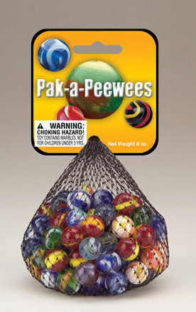 Marbles- Pak-a-Peewees