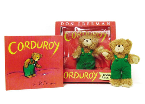 Corduroy- book and bear set