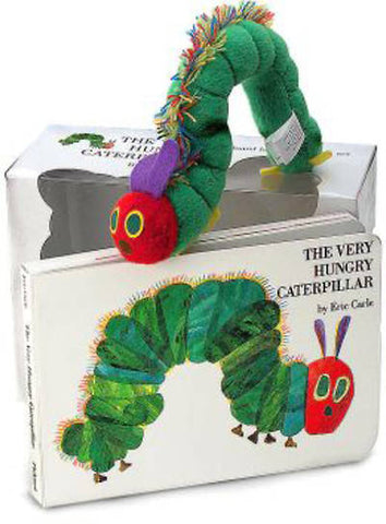 Very Hungry Caterpillar- board book and plush set