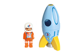 Astronaut with Rocket