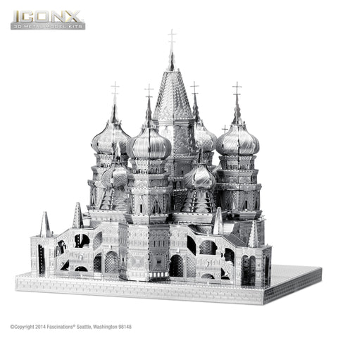 ICONX Metal Model St. Basil's Cathedral