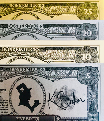 Bonker Bucks: Redeemable In-Store Only