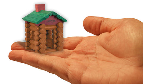 World's Smallest Toys Lincoln Logs
