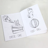 "Mini Lou Coloring Books (5""x7"")"