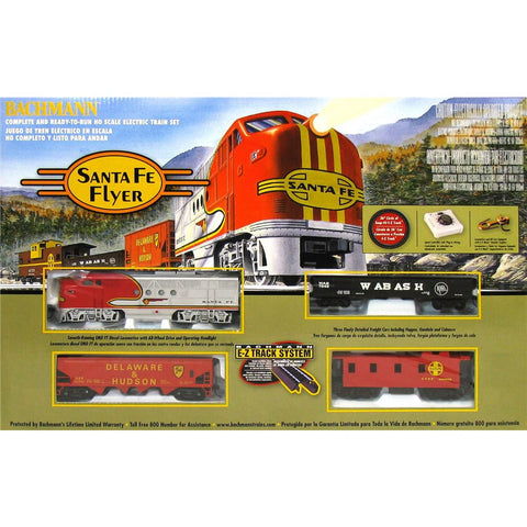 Bachmann Santa Fe Flyer Train Set