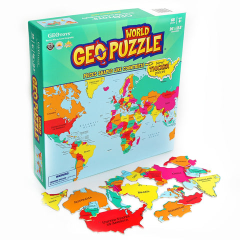 GeoPuzzles: World Map