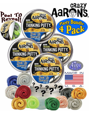"Crazy Aaron's Thinking Putty- 2"" Treasure Surprise!"