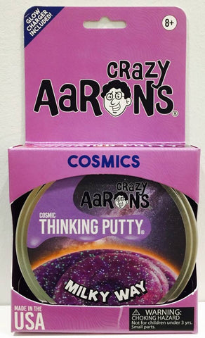 Crazy Aaron's Thinking Putty- Milky Way