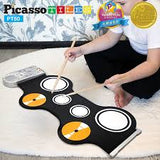 Flexible Roll-Up Educational Electronic Drum Kit
