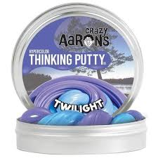 Crazy Aaron's Thinking Putty- Heat Sensitive Hypercolor 3.2oz