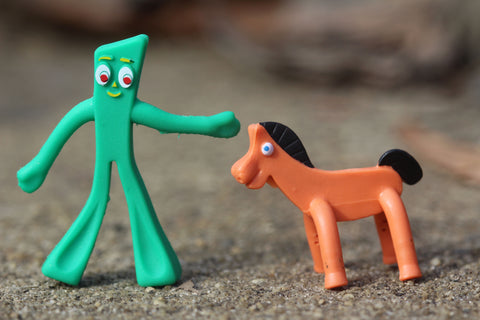 World's Smallest Toys Gumby and Pokey