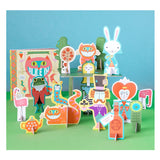 Alice in Wonderland Playset