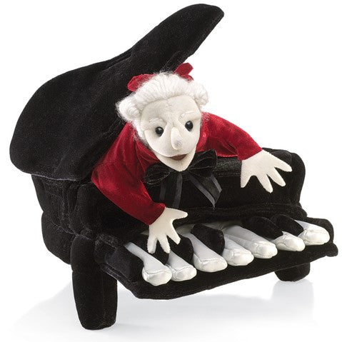 Hand Puppet-Mozart in Piano