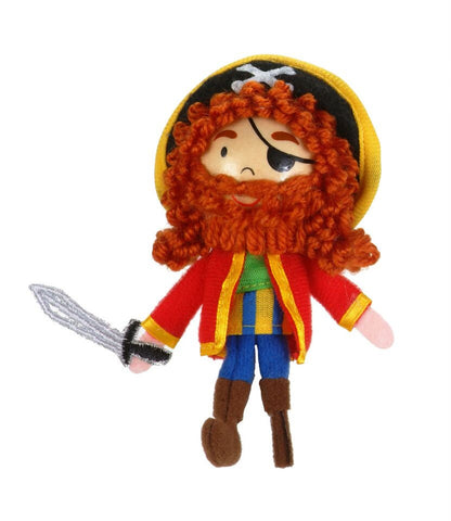 Captain Red Beard Finger Puppet