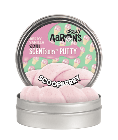 Crazy Aaron's Thinking Putty Scentsory Scoopberry