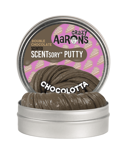 Crazy Aaron's Thinking Putty Scentsory Chocolotta