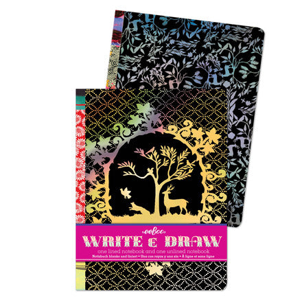 Silhouette Write and Draw Notebook Set-