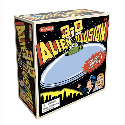3-D Alien Illusion