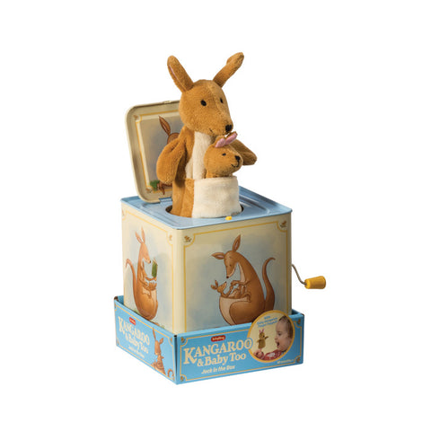 Kangaroo and Baby Jack-in-the-Box