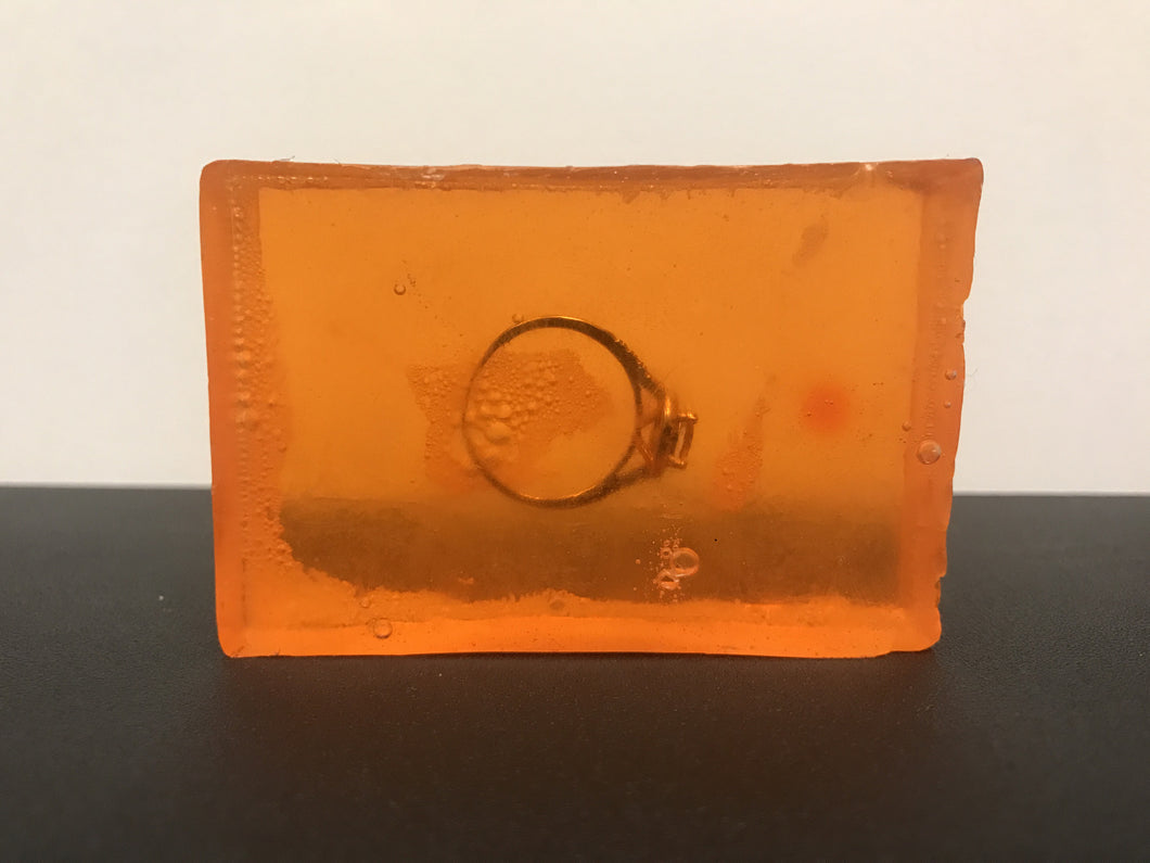 mandarin mango ring soap