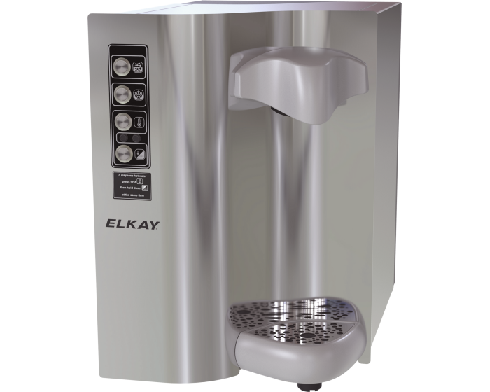 Elkay DSWH160UVPC | Countertop Water Dispenser | Filtered, Refrigerated, Hot water, Stainless Steel - BottleFillingStations.com
