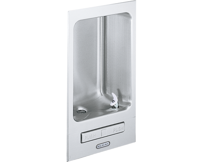Elkay EDFB12FC | Fully recessed Drinking Fountain | Filterless, Non-refrigerated, With Glass Filler - BottleFillingStations.com