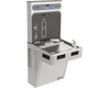 Elkay EMABF8WSSK | Wall-mount Bottle Filling Station | Filterless, Refrigerated, EMAB-style fountain, Stainless Steel - BottleFillingStations.com